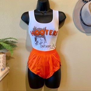 Hooters Uniform Tank & Dolphin Shorts Ontario, CA
